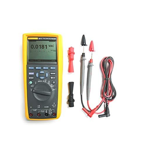XIANGBAO-multimeter Professionelles True-RMS Industrie-Logging Multimeter mit Trend Capture Voltmeter Amperemeter OHM AC DC Tester, gelb, 287C