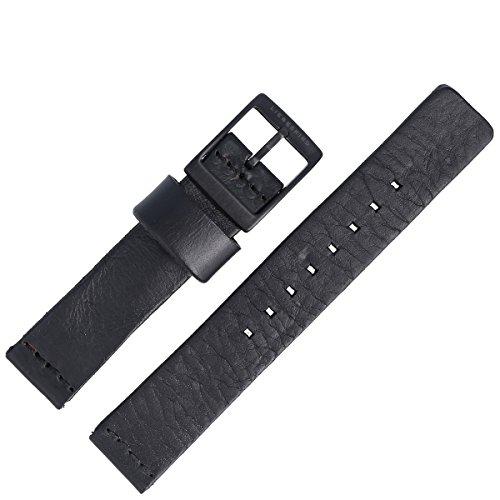 Liebeskind Berlin Uhrenarmband 18mm Leder Schwarz - B_LT-0025-LQ