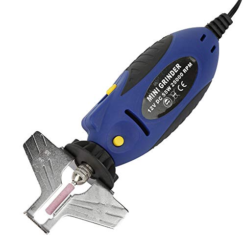 12V Handheld Chainsaw Sharpener Portable Electric Saw Filing Chain Saw Grinder for Garden Outdoor Grinding Machine Tool