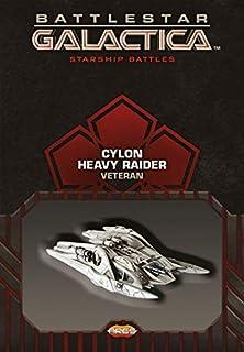 Ares Games Battlestar Galactica Starship Battles Spaceship Pack Cylon Heavy Raider Miniature