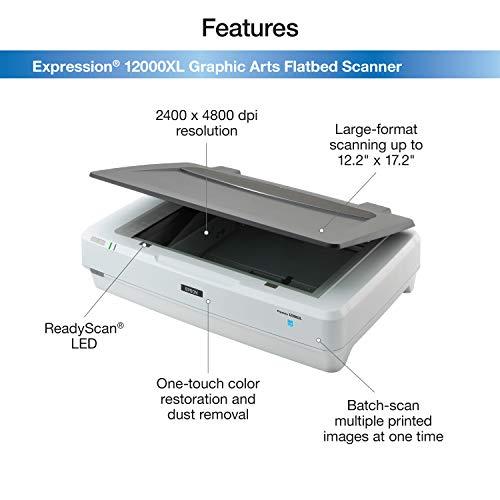 Epson Expression 12000XL-GA Flatbed Scanner