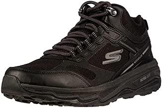 Skechers Men's Go Run Altitude - Trail Running Walking Hiking Shoe with Air Cooled Foam, Black, 13