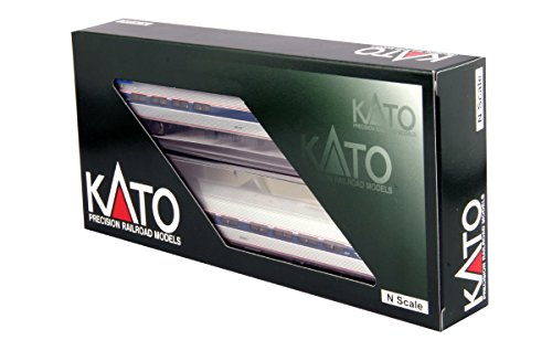Kato USA Model Train Products N Scale Amfleet I Phase VI 2-Car B Set