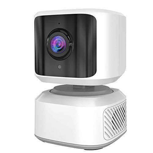 Cámara de seguridad interior para el hogar, enchufable 1080P Pan & Tilt Wi-Fi cámara para humanos/mascotas, seguimiento de movimiento/visión nocturna,funciona con Alexa y Google Home