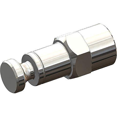 Croozer Unisex– Erwachsene Achsmutterkupplung-3092019235 Achsmutterkupplung, Silber, One Size