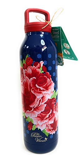 Core Home The Pioneer Woman Infuser Water Bottle, Immerse Rose, 18 oz.