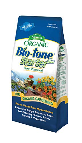 Espoma Bio-Tone Starter Plus Plant Food, Natural & Organic Fertilizer for All Plants, 4 lb, Pack of 2