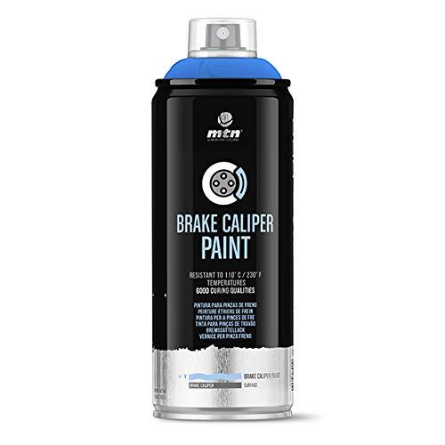 Montana Colors MTN Pro Pintura Pinzas de Freno-Azul Eléctrico, Spray 400ml