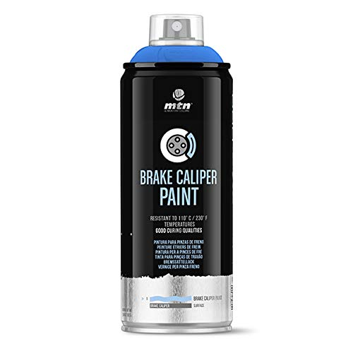 Montana Colors MTN Pro Pintura Pinzas de Freno-Azul Eléctrico, Spray 400ml