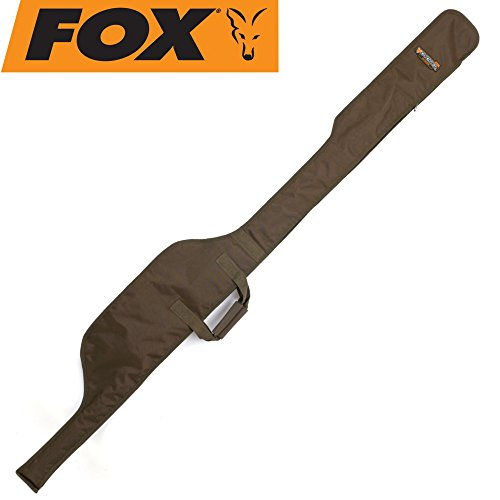 Fox Voyager 12ft sleeve 198x24cm - Rutenfutteral für Angelrute, Angeltasche für Karpfenrute, Rutentasche für Angelruten