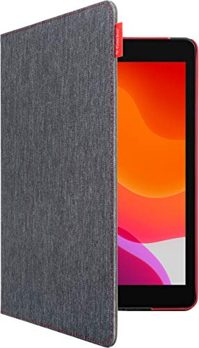 Gecko Easy-Click Cover für Apple iPad 10.2 (2019), grau/rot V10T52C14