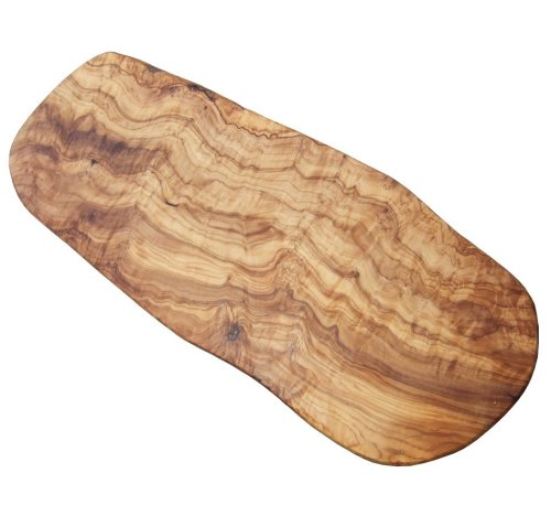 Naturally Med Olive Wood Cutting Board/Cheese Board, 19.5', Large