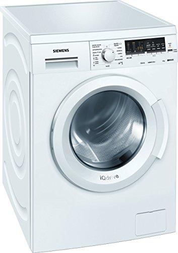 Siemens WM12Q468ES - Lavadora De Carga Frontal Wm12Q468Es De 8 Kg Y 1.200 Rpm
