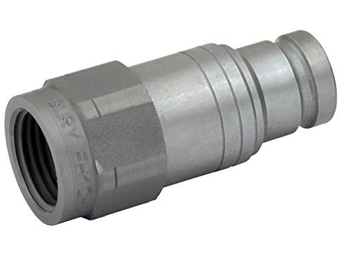 FK Söhnchen Hydraulik-Stecker mit Gewindezapen W(24°) DIN 3861, für flachdichtende Steck-Kupplung, Baugröße 2, Innen-Gewinde 1/2