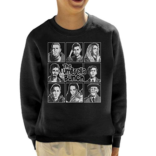 Cloud City 7 The Umbrella Bunch White Kid's Sweatshirt