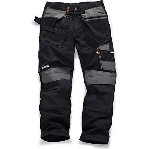 Scruffs T51973 TradeLong Trousers, Black, 32W 32L(Manufcature Size:46)