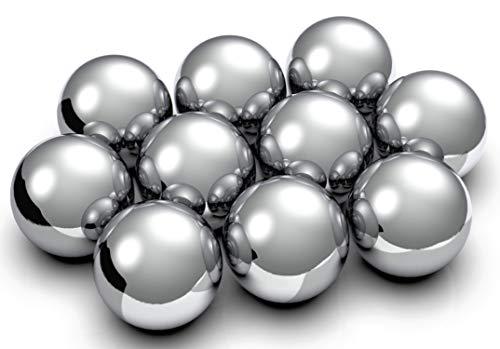 NeoMagNova Kugelmagnete 10x10x10 mm N45 Silber