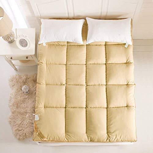 Best Deals! WJMLS Futon Mattress Japanese Floor Mattress Folding Tatami Floor Mat Portable Camping M...