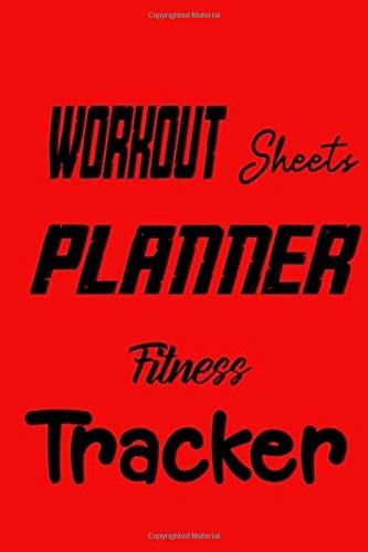 Workout Sheets Planner Fitness Tracker: Fitness lovers workout/log