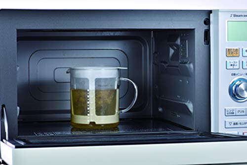 HARIO(ハリオ)耐熱ガラス電子レンジだしポット700mlDP-600-W