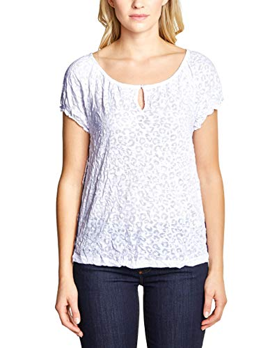 Street One Damen 313456 T-Shirt, Weiß, 40
