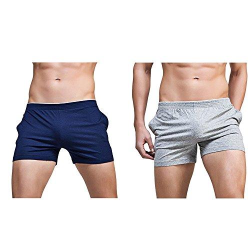 Banana Bucket Men's Running Workout Gym Active Shorts Lounge Sleep Bottoms