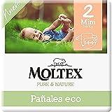 Moltex Pure & Nature Pañales Ecológicos Talla 2 (3-6 kg) - 144 Pañales