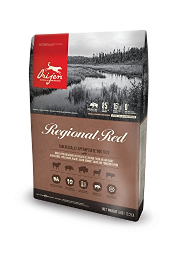Orijen Regional Red Dog Whole Prey Probepackung - 340 g