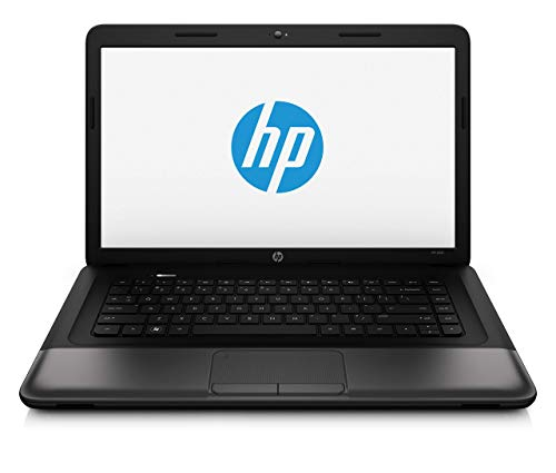 HP 650 (15.6 inch) Notebook Pentium (B970) 2.3GHz 4GB 500GB DVD±RW SM DL WLAN Webcam Windows 7 HP 64-bit (HD Graphics) (Renewed)