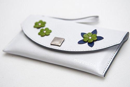 Funda de piel Esotica - Blanco para Apple iPhone 4, iPhone 5...