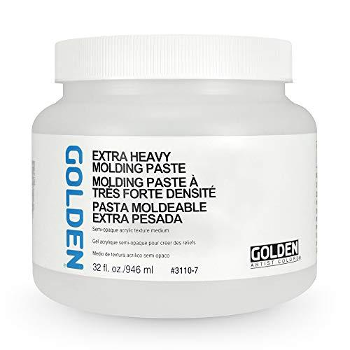 Golden Artist Colors - Extra Heavy Molding Paste - 32 oz Jar