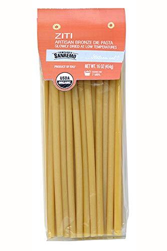 Sanremo Ziti Organic Pasta, Pack of 4