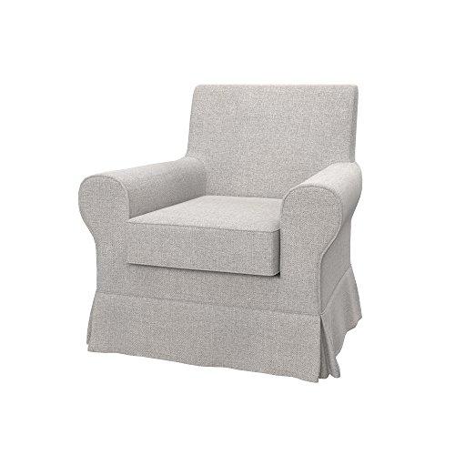 Soferia Funda de Repuesto para IKEA EKTORP JENNYLUND sillón, Tela Naturel Beige, Beige