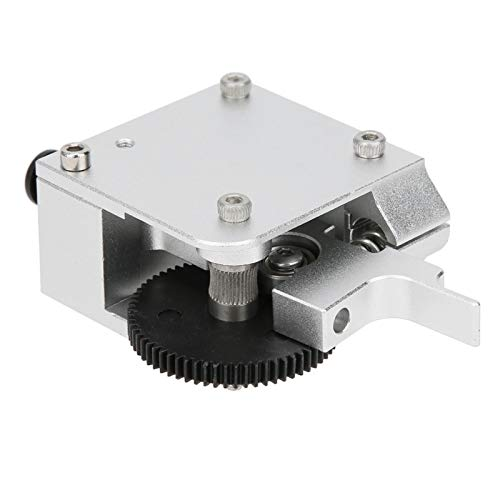 Jeanoko Impresora 3D Kit de extrusora de Metal Totalmente Extrusora de Engranajes Kit de extrusora de Impresora 3D Kit de extrusora Herramientas de Hardware de aleación de Aluminio con 1 Juego Kits