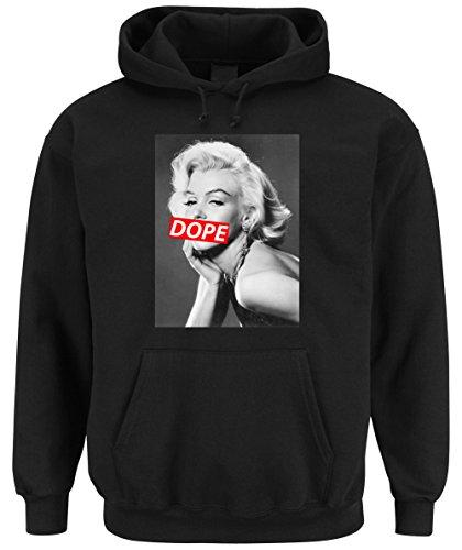 Certified Freak Dope Marilyn Hooded Sweater Negro