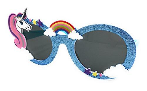 Panelize® Einhorn Einhornaccessories Brille Sonnenbrille Unicorn Regenbogen Rainbow Erwachsene und Kinder