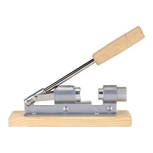 Manuelle Heavy Duty Nussknacker Pecan Nussknacker Walnuss Zange Küche Werkzeug Desktop Holz Basis Griff