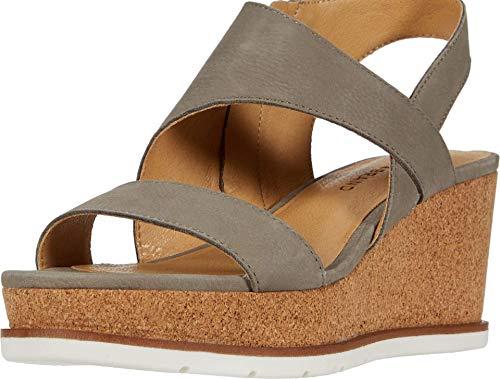 Lucky Brand Women's BYLANNA Wedge Sandal, Driftwood, 6