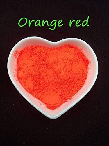 Finally popular brand Gabcus Orange Yellow Phosphor Holographic Powder Nail Glitter cheap Ar