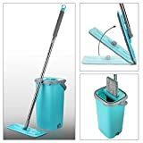 Smile Mom Easy Flat Mop Stick Rod with Bucket