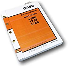 Case 1700 1737 1740 Uni-Loader Skidsteer Service Repair Technical Shop Manual