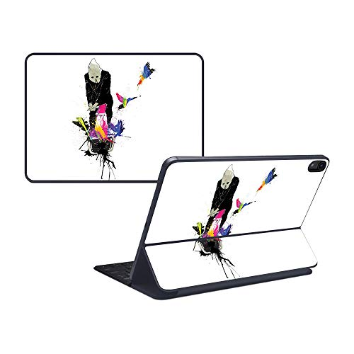 MightySkins Skin Compatible with Apple iPad Pro Smart Keyboard 11' - Executioner | Protective, Durable, and Unique Vinyl Decal wrap Cover | Easy to Apply, Remove, and Change Styles | Made in The USA