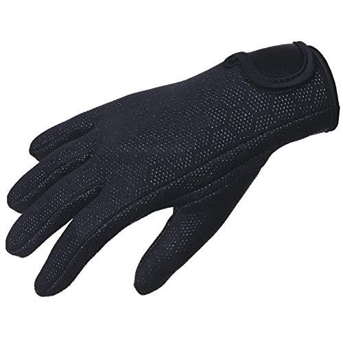 LZWNB 2MM Neoprene Non-Slip Diving Gloves for Snorkeling Scuba Swimming Surfing Kayaking Rafting Spearfishing Sailing,XL
