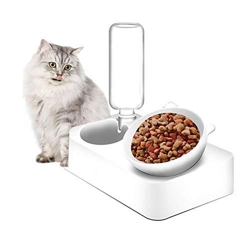 TPMALL Comedero Automatico Perros Comedero Automatico Gatos Gato de Almacenamiento de Alimentos Cachorros de Los Animales de