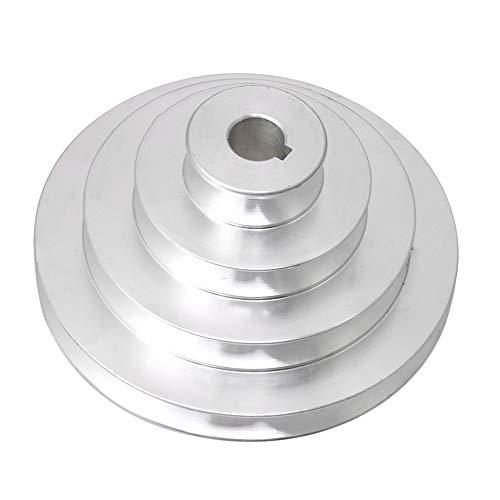 41mm bis 130mm Außendurchmesser 16mm Bohrung Aluminium 4 Stufen Pagoden Riemenscheibe für einen Typ-Keilriemen