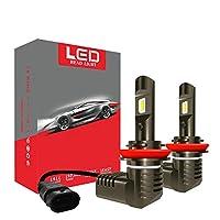 ヘッドライトの電球ヘッドライト白熱灯 18000LM Inhanced車LEDヘッドライトH7ツェッペリンH4 H8 H9 H11 9005 HB3 HB4 9006でCSPチップ6000K 12Vランプの車のヘッド電球カースタイリング (Socket Type : 9006/HB4)