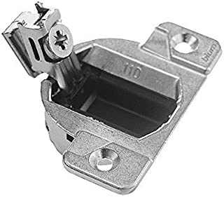 Blum 33.3600 Compact 33 Screw on 110 Degree Opening Face Frame Hinge, Zinc Die-Cast (Pack of 10)