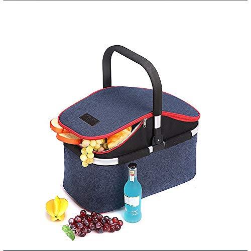 cesta con tapa con efecto mimbre fabricante AiKuJia