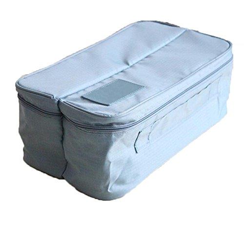 Voyage Multifonctions Paquet De Finition Sac De Rangement Lavage Portable Chaussettes Sous-vêtements à L'intérieur Du Compartiment Sac,Blue
