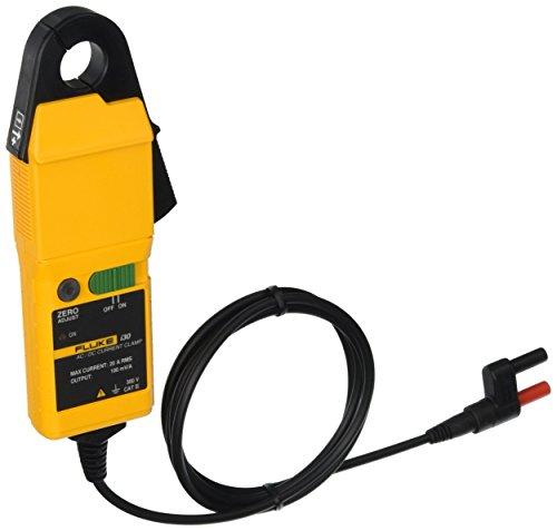 Sonda de corriente 30A DC/20 A AC; 20KHz; medida cables hasta 19mm Ø; para multímetros